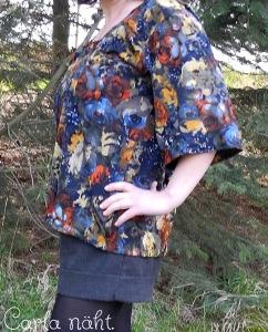 Burda Bluse Seite