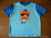 Oktonauten Shirt Applikation