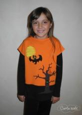 Halloween Applikationsvorlage Elbpudel Probenähen