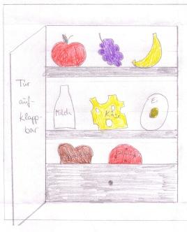 Kühlschrank farbig