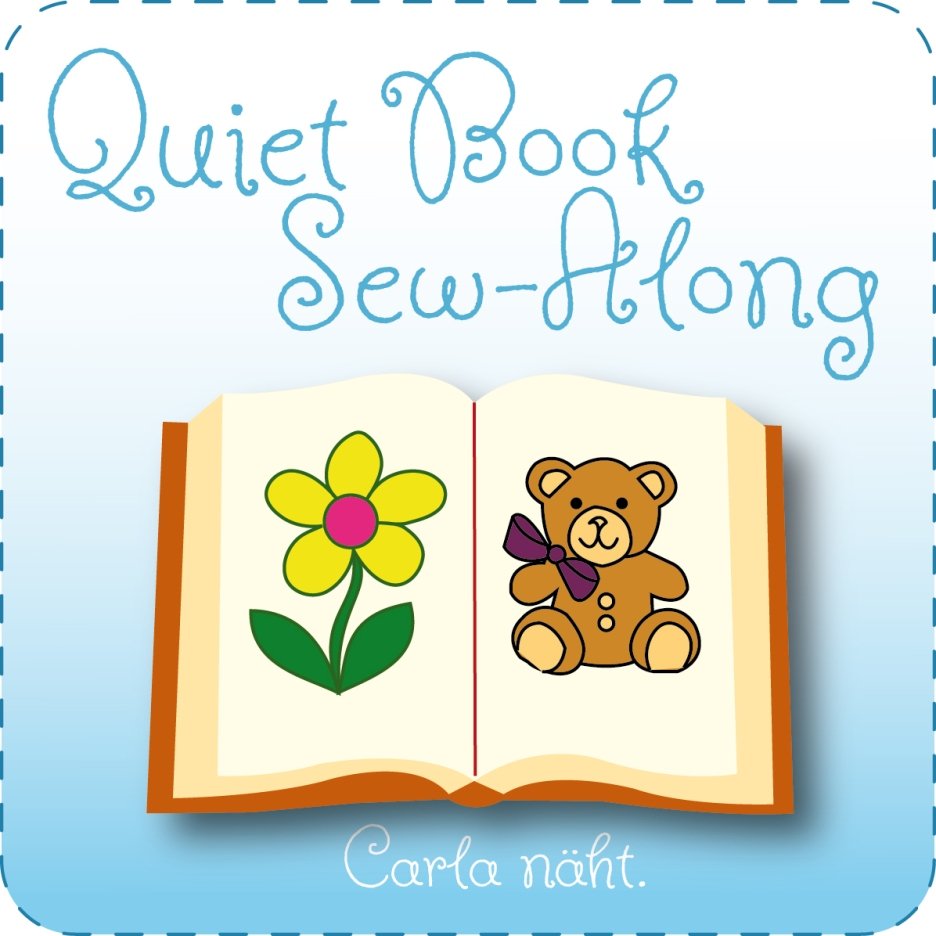 Quiet Book Sew-Along 2016 carla näht