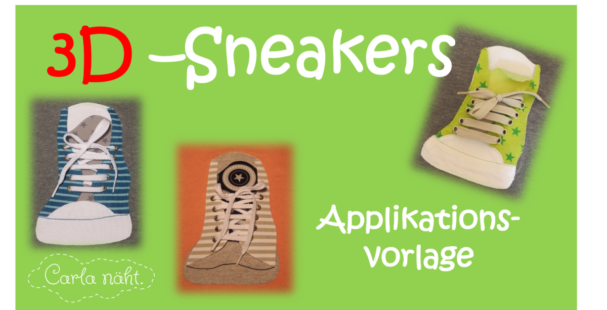 3D-Sneakers Applikationsvorlage