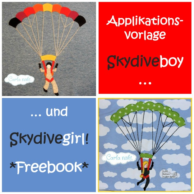 kostenlose Applikationsvorlage Freebook Skydiver