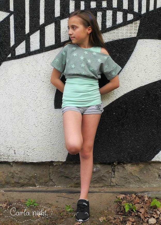 Chic Girl Shirt & Top NoNameNeedle